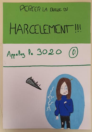 5emes 2021: Prévention Harcèlement en Arts Plastiques