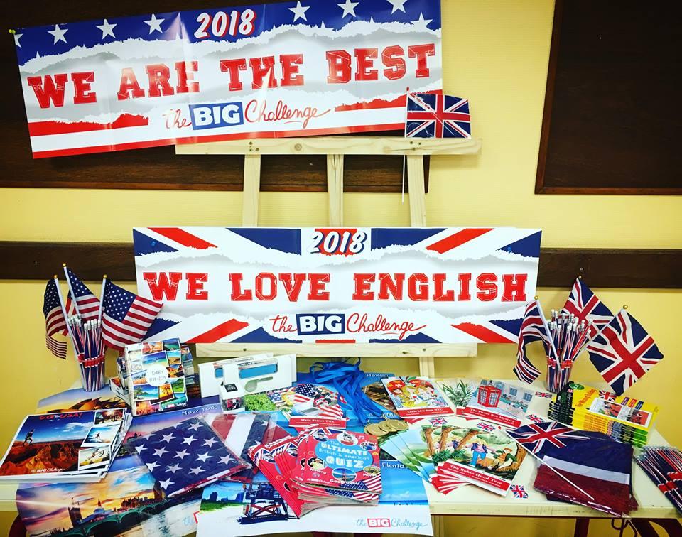 The Big Challenge, un concours d'anglais national