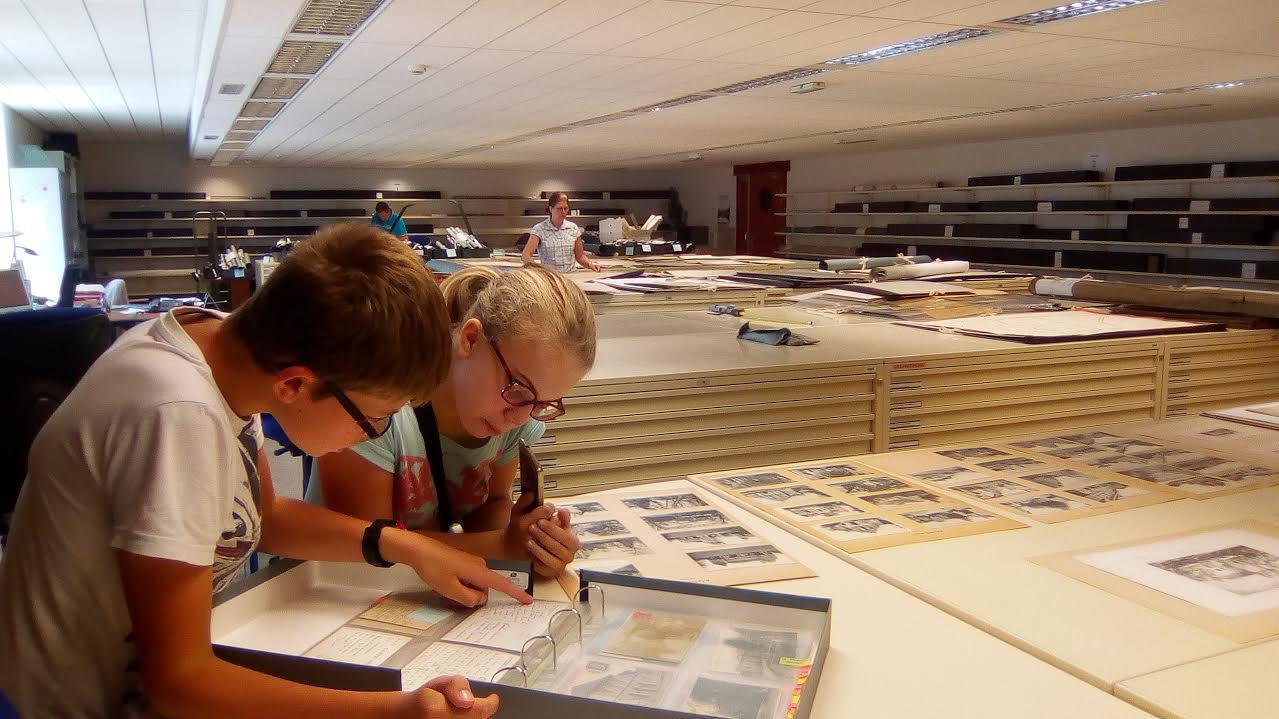 Visite aux archives départementales  06/2017