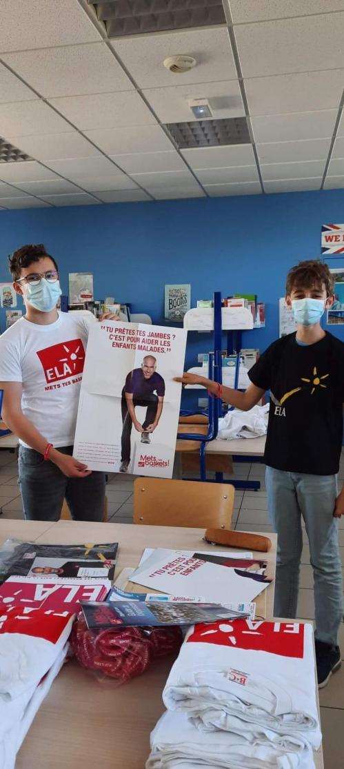 Nos Conseillers Départementaux Jeunes  préparent l'Opération ELA