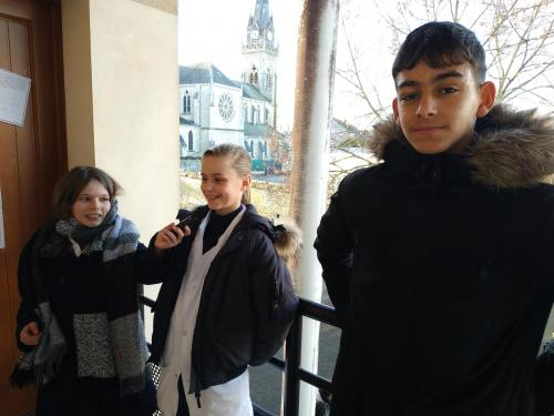 Nassim et Clarysse: champions de cross